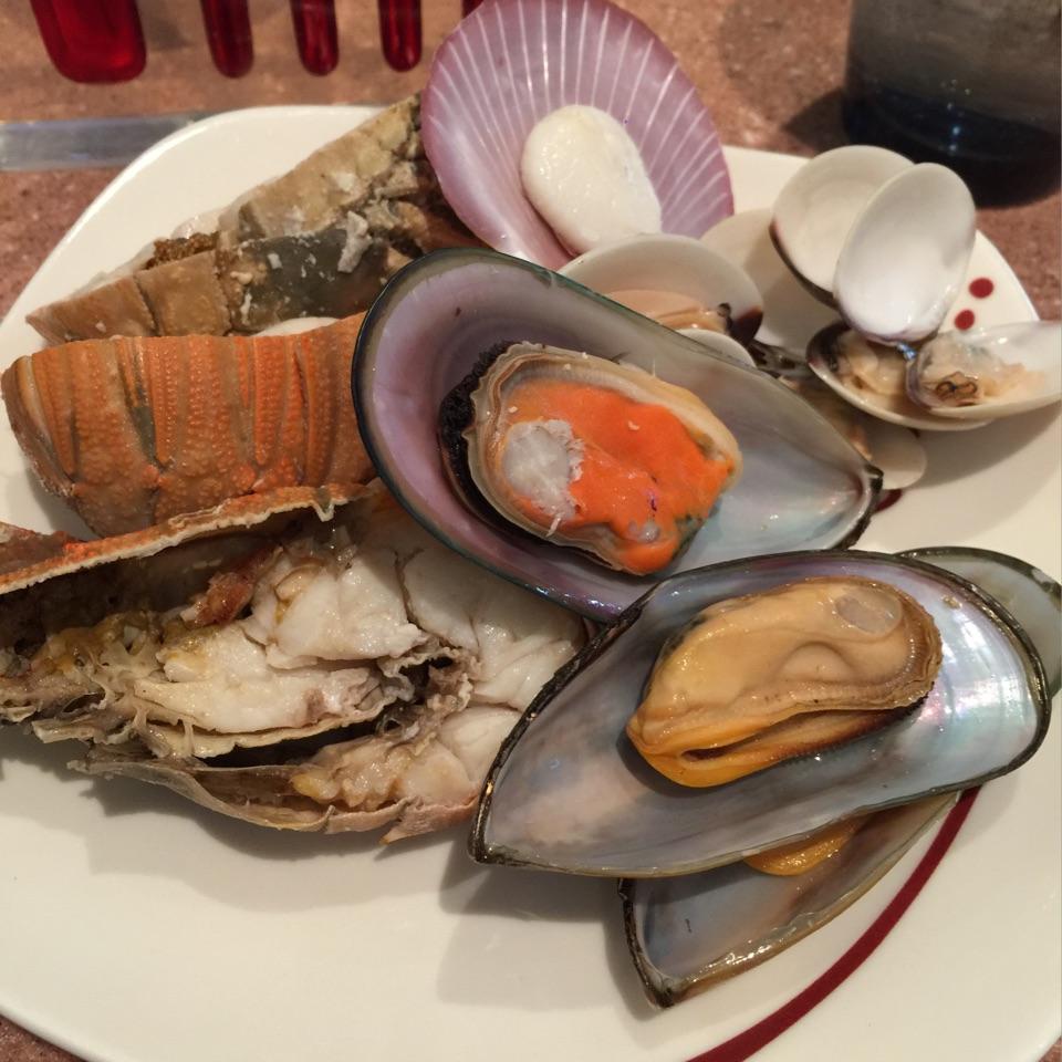 Big Ol Plate of Seafood