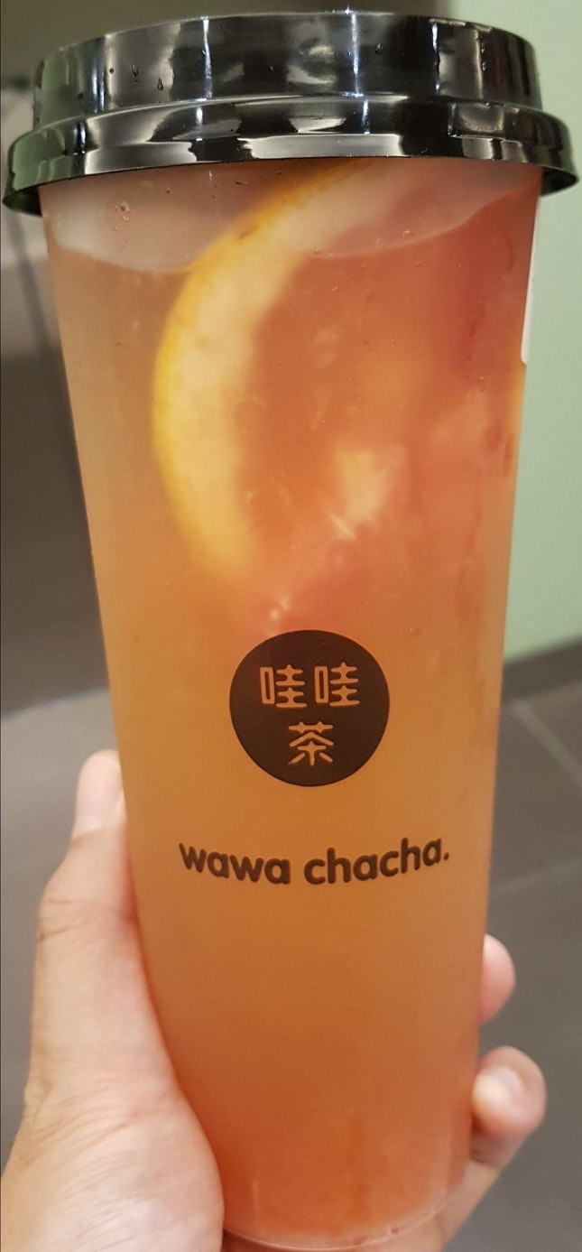 Grapefruit Tea ($5.40)