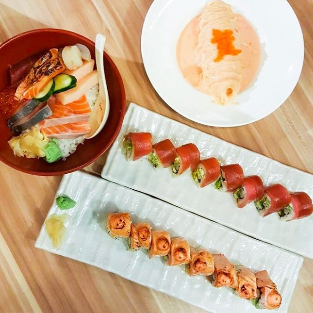 @ The Sushi Bar A MUST COME.