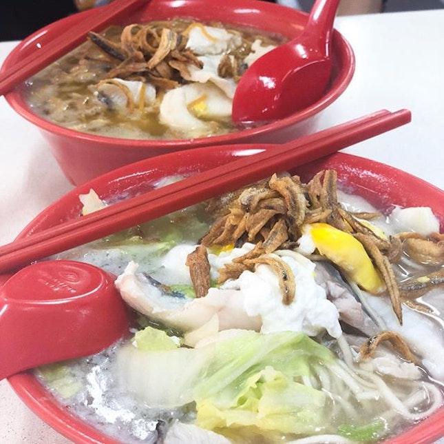 @ J99 Coffeeshop Toa Payoh Ban Mian Tummy always ready for good banmian anyway everywhere!!