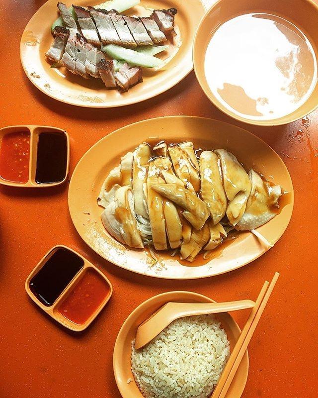 Shi Mei Hainanese Chicken Rice 實美芽菜雞飯