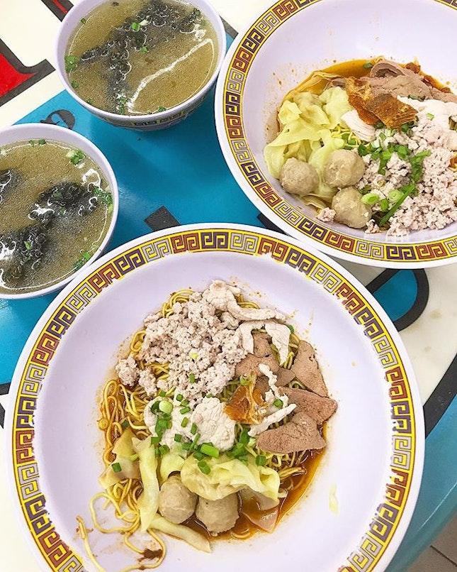 Michelin Star ⭐️ - Hill Street Tai Hwa Pork Noodle!!!