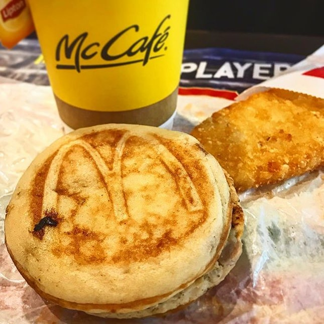 My dear mini McGriddles I only had you once and you are gone!