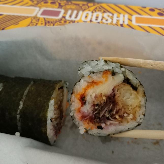 Sushi Roll - Tempura Ebi + Melted Cheese + Teriyaki Sauce
