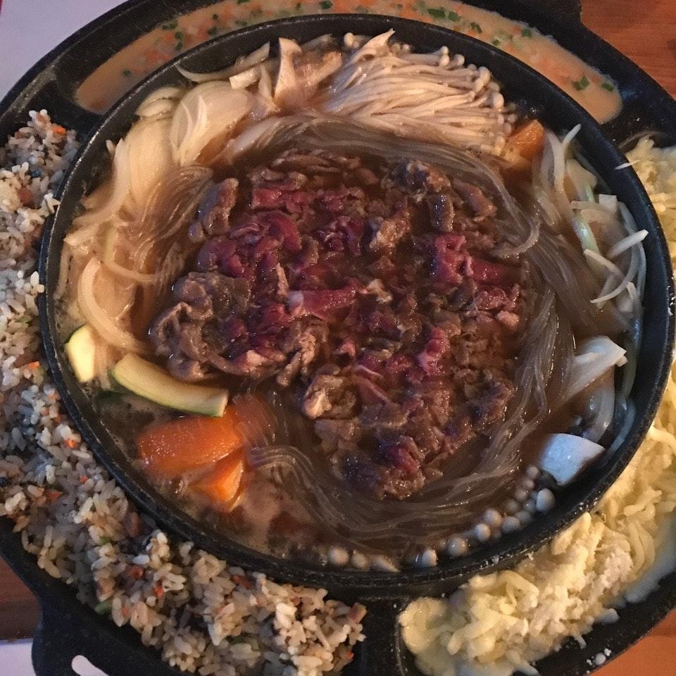 UFO Platter - Bulgogi Stew