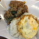Salted Egg Pork Rib With Rice