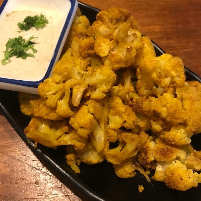 Baked Tumeric Cauliflower