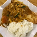 Curry Fish With Rice