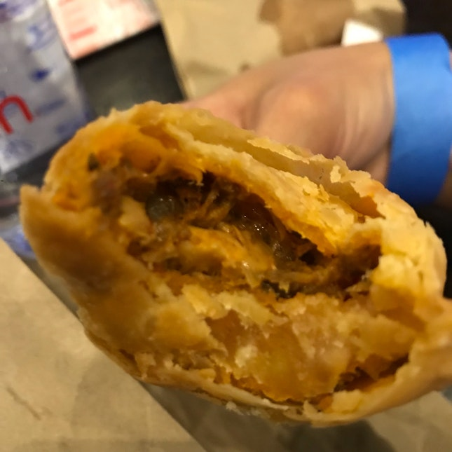 Sardine Curry Puff