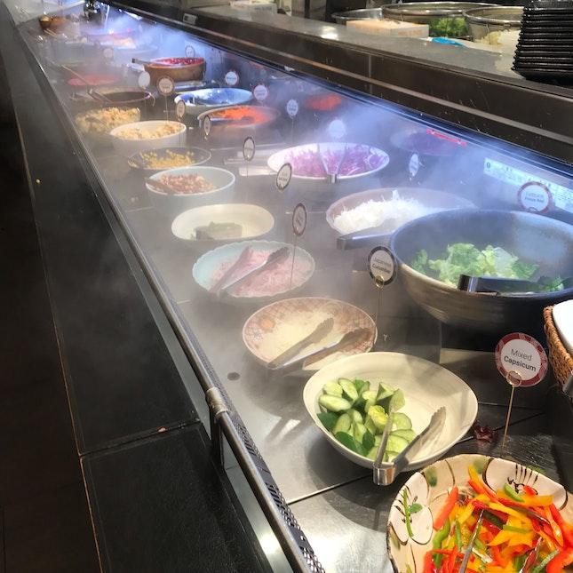 Free Flow Salad Bar