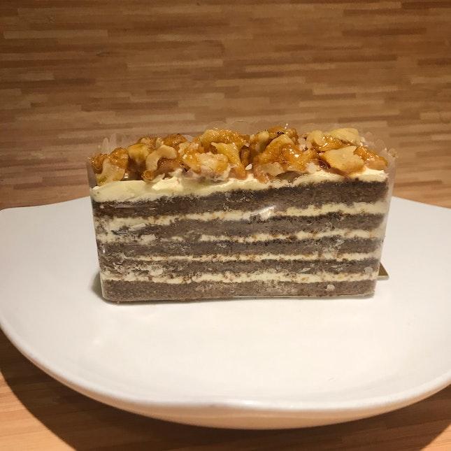 Walnut Brittle Coffee Cake