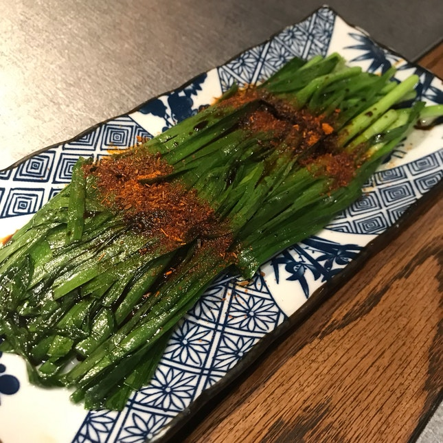 Grilled Chinese Chives