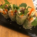 Summer Roll With Grilled Beef