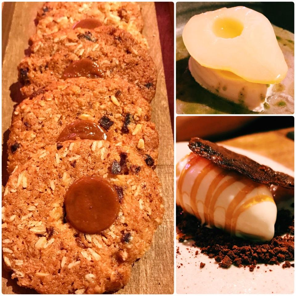 My favourite desserts at @saltedandhung.