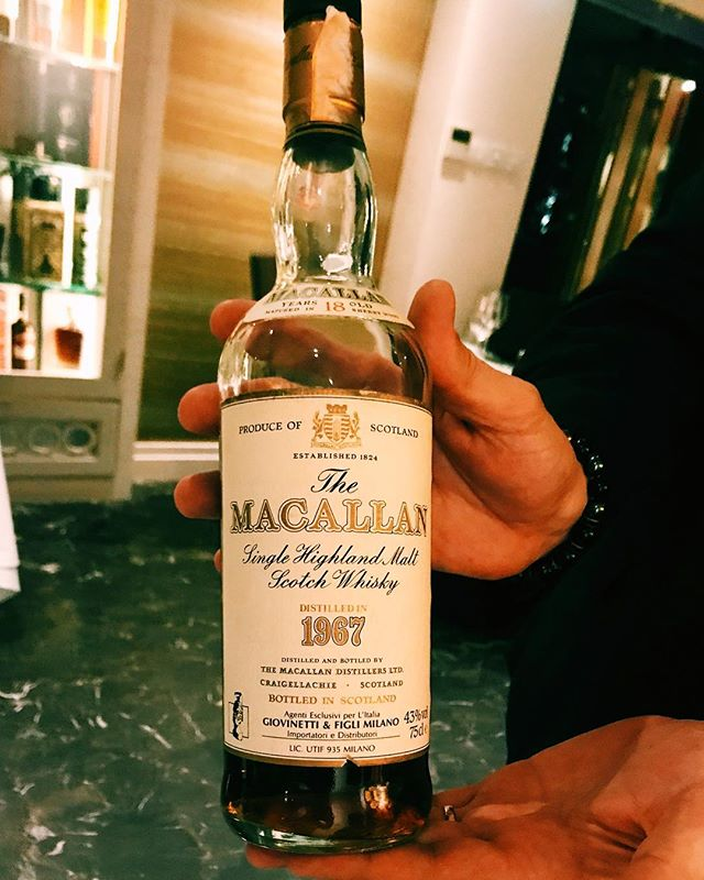 1967 18-year old Macallan!