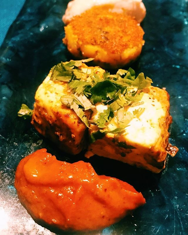 The one food I must have when I am in India is paneer (cottage cheese).