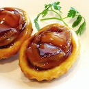 Tied with The Eight in Macau as the best dim sum experience of my life at the incomparable Lung Keen Hing...this is the gorgeous little abalone tart...
