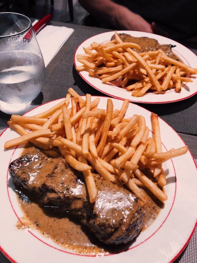 L'entrecote Trimmed Steak