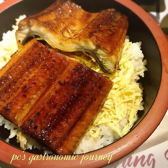 My favourite unagi don @kampachiofficial @pavilionkl #makanmakan #treat #japanese #bloated #unagidon #burp #burpple @burpplekl @burpple #instayum #yummyinmytummy #instafoodie #foodie