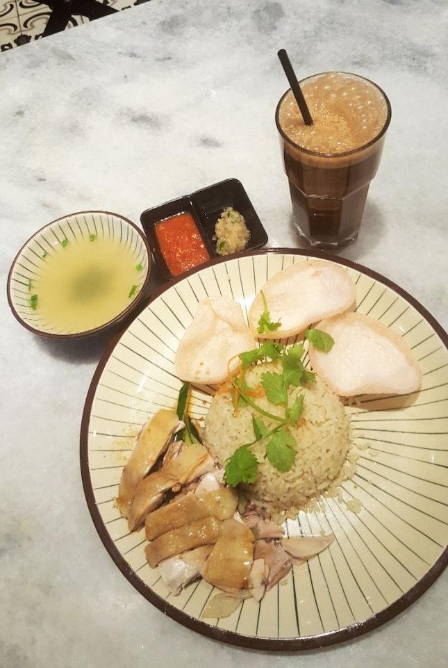 Nam Heong Steamed Chicken Rice