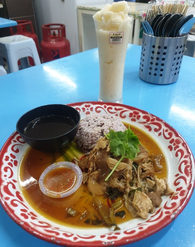 Pork Leg With Rice