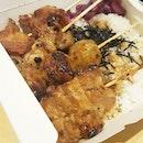 Wadori Yakitori rice set ($8.50) .