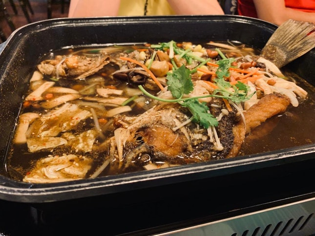 Mushroom Grilled Fish