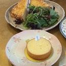Lemon Tart & Croque Monsieur
