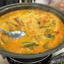 Curry Fish Head ($28++)