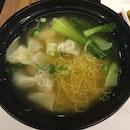 Wonton Noodle Soup ($7.80++)