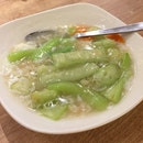 Braised Luffa with Conpoy ($14.90++ for small)