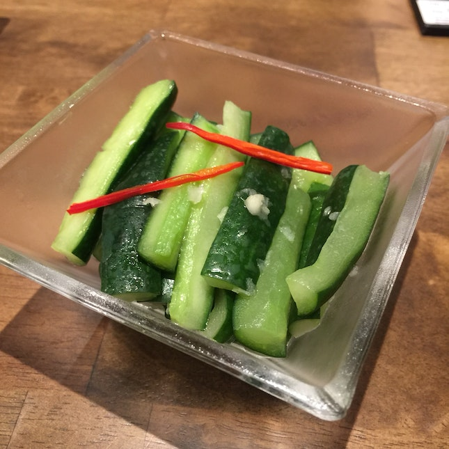 Chilled Crunchy Cucumber