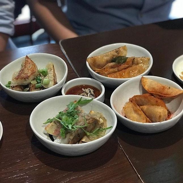 How can we miss the dumplings when we are at Dumpling Darlings?