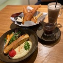 Miso Salmon, Fish And Chips