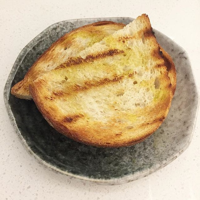 Burnt toasts, so simple and yet really a joy munching these away.
