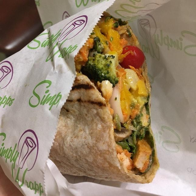Do-it-Yourself Salad/Wrap (~$8.90+)