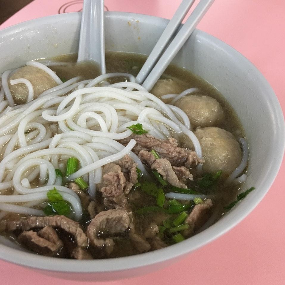 Beef Noodles ($5)