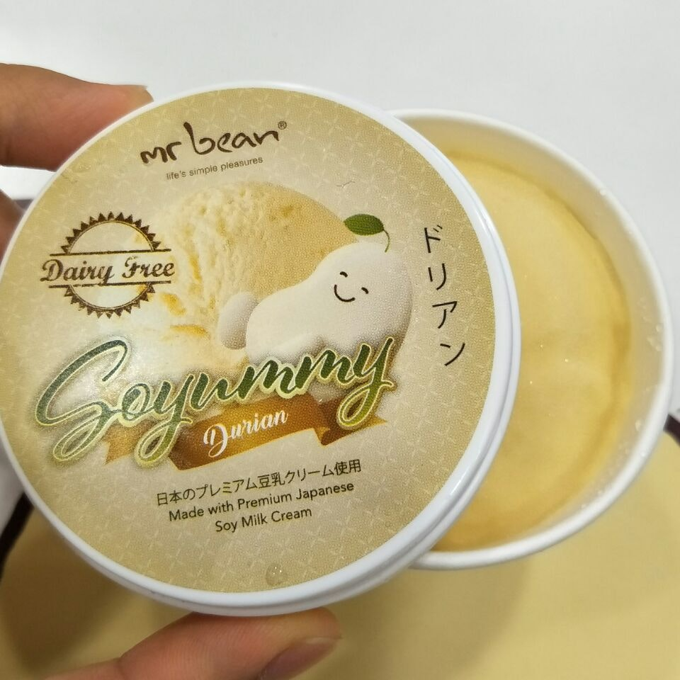 Durian Soy Ice Cream