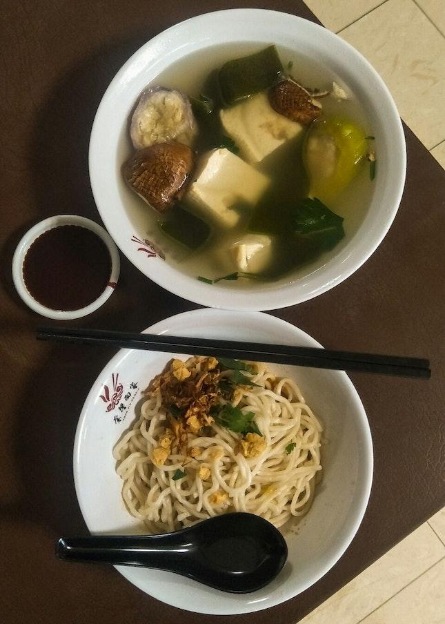 For Vegetarian Yong Tau Fu