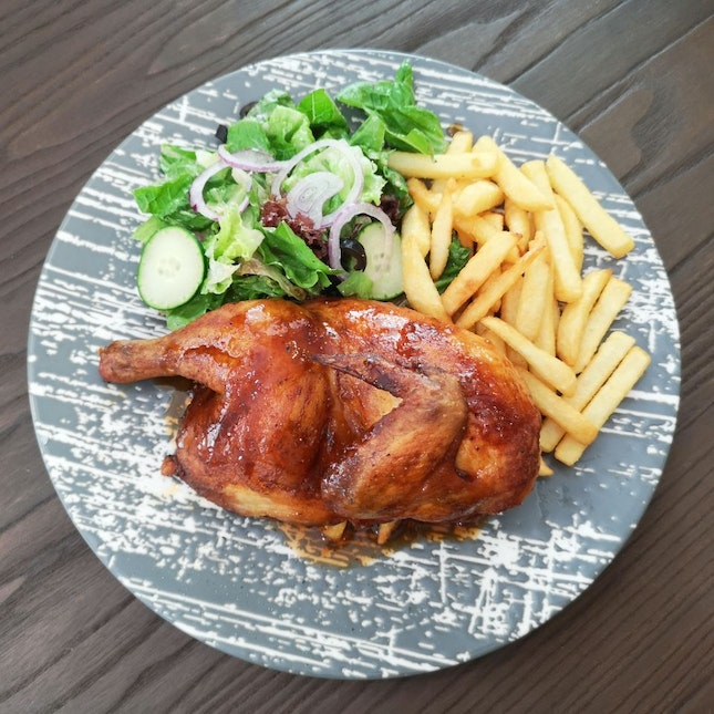 Oven Roasted 1/2 Chicken ($14.90)