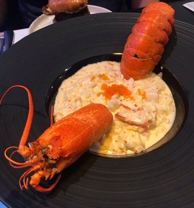 Good lobster risotto