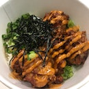 Chicken Karage rice bowl ($8.5)