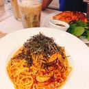 Chilli Crab Pasta W Soft Shell Crab