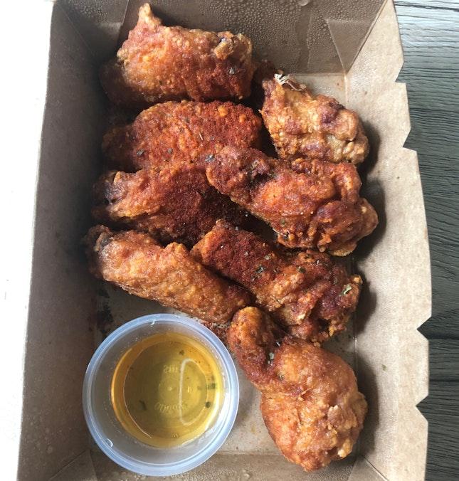 Honey Paprika Crispy Wings $10+