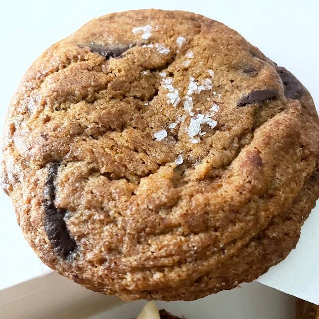 Sea Salt Chocolate Chip Cookie $3