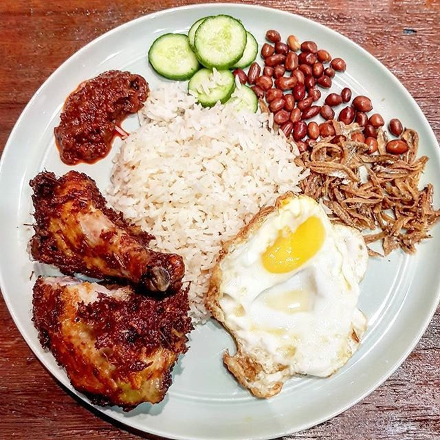 S$12.80 Nasi Lemak by The Coconut Club.