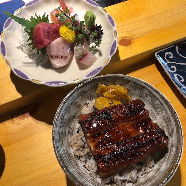 Sashimi Unajyu [$22.80]
