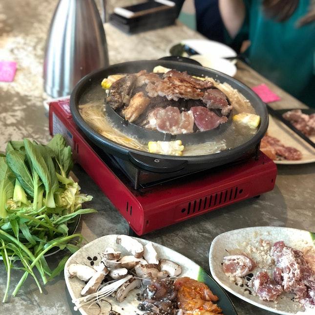 Mookata Buffet [$25.90] - Lunch