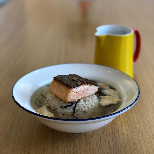 Salmon Ochazuke (Tasting Portion)