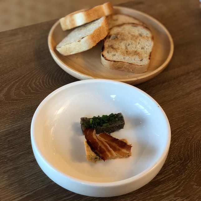 Bread With Speck & Forest Mushroom Butter